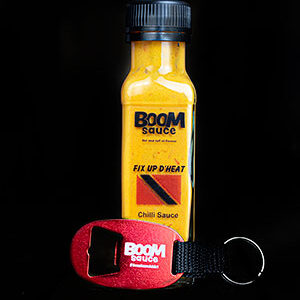 Hot Chilli Boom Sauce with Keyring